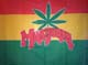 FLG Red Gold & Green Marijuana - LARGE FLAG