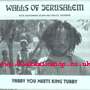 2XLP Walls Of Jerusalem- YABBY YOU meets KING TUBBY